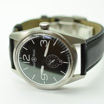 Bell & Ross Aviation BR123 41mm Stainless Steel Watch on...