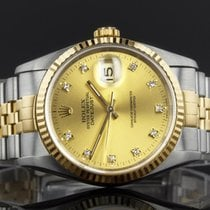 Rolex Datejust 16233 - 1994 - Rolex Factory Fitted Diamond Dot...