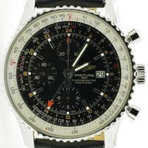 Breitling Navitimer World Steel 46mm Black No numerals United States of America, Michigan, Grandville
