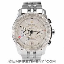 Breitling Bentley P26362 Stainless Steel White Dial Automatic...
