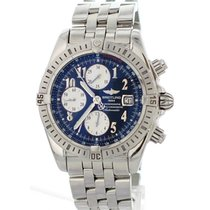 Breitling Chronomat Evolution A13356 Automatic 44mm Chronograph