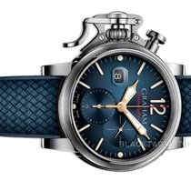 Graham Chronograph 47mm Automatic 2018 new Chronofighter (Submodel) Blue