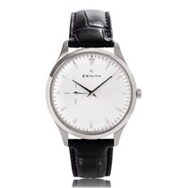 Zenith Elite Ultra Thin Staal 40mm Wit