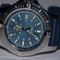 Breitling Colt Automatic Steel 44mm Blue No numerals United States of America, New York, Greenvale