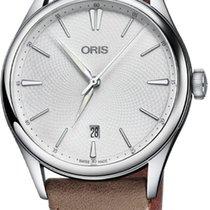 Oris Artelier Date Steel 40mm Silver