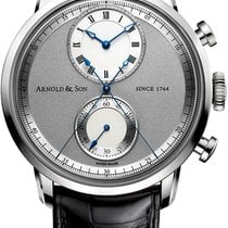 Arnold & Son Steel Automatic 1CHAS.S02A.C121S new