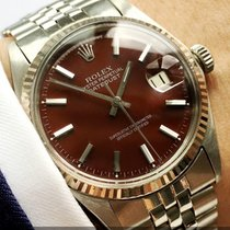 Rolex Serviced Rolex Datejust Automatic brown dial 36mm