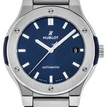 Hublot Automatic Blue 45mm new Classic Fusion Blue