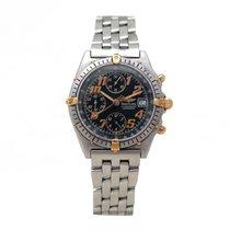Breitling montre breitling chronomat b13047 38 mm auto chrono...