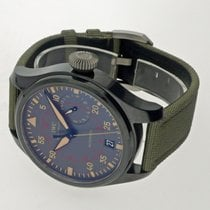 IWC Big Pilot Top Gun Miramar Керамика 48mm Cерый Aрабские
