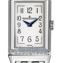 Jaeger-LeCoultre Steel Manual winding Silver 40mm new Reverso Duetto