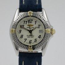 Breitling Callistino Goud/Staal 29mm Wit Arabisch Nederland, Nijmegen  (www.horloge-sieraden.nl)