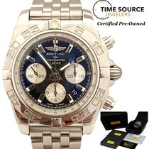 Breitling Chronomat 44 Steel 44mm Black United States of America, New York, Huntington Village