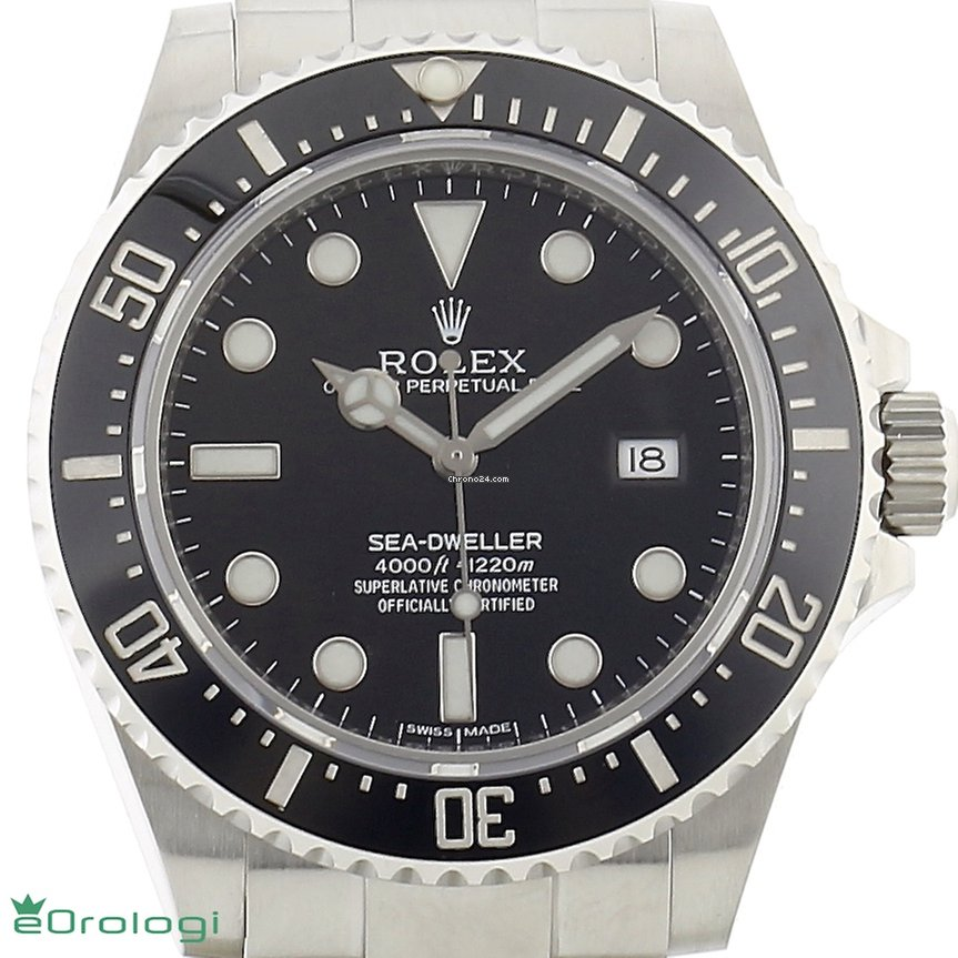 Rolex Sea Dweller 4000 Discontinued Production Ref 116600
