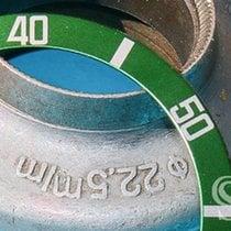 Rolex Submariner Date ROLEX GREEN  SUBMARINER DATE 16610 LV BEZEL INSERT INLAY 2002 pre-owned