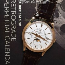Patek Philippe Perpetual Calendar Rose gold 39.5mm Silver United States of America, Florida, 33431