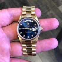 Rolex pre-owned Automatic 36mm Blue Sapphire Glass 10 ATM