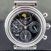 IWC Da Vinci Perpetual Calendar Steel 39mm Black United States of America, Massachusetts, Boston
