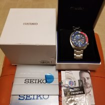 Seiko Prospex pre-owned 45mm Blue Date Weekday Steel