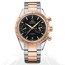 Omega Speedmaster '57 Gold/Steel 41.5mm Black No numerals United States of America, Iowa, Des Moines