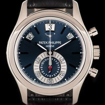 Patek Philippe Annual Calendar Chronograph Platinum 40.5mm Blue No numerals United Kingdom, London