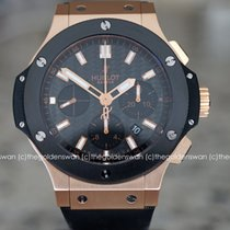 Hublot Big Bang 44 mm Roségull 44mm Svart Ingen tall