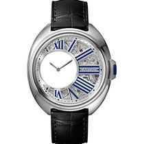 Cartier new Manual winding 41mm Steel Sapphire crystal