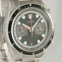Tudor Heritage Chrono Steel 42mm Grey