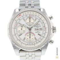 Breitling Bentley GT Acero 45mm Blanco Árabes