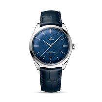 Omega De Ville Trésor новые Механические Часы с оригинальными документами и коробкой 435.13.40.21.03.001