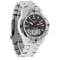 Tissot T-Touch II Mens Carbon Fiber Titanium Watch T047.420.44...