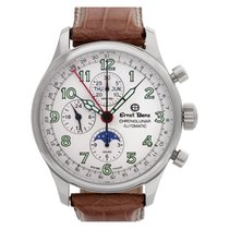 Ernst Benz Chronolunar GC40312a Stainless Steel Cream dial...