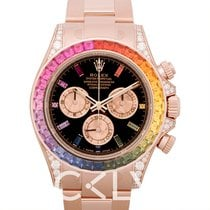 "劳力士  Cosmograph Daytona ""Rainbow"" /18k rose gold Ø40mm - 116595RB"