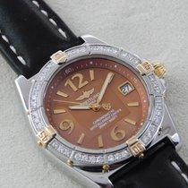 Breitling Callisto Acero y oro 35mm Bronce Árabes