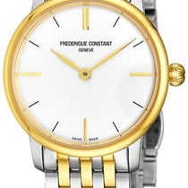 Frederique Constant Slimline Mid Size Steel Silver United States of America, New York, Brooklyn