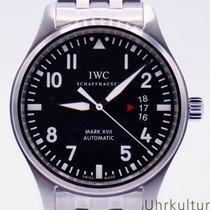 IWC Fliegeruhr Mark Stahl 41mm Schwarz Arabisch Deutschland, Duisburg/München/Linz