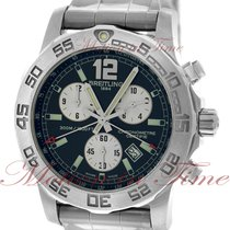 Breitling Colt Chronograph II Steel 44mm Black No numerals United States of America, New York, New York