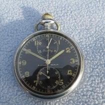 Breitling Uhr gebraucht 1940 Stahl 51mm Handaufzug Nur Uhr