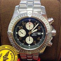 Breitling Super Avenger Steel 48mm Black Arabic numerals United Kingdom, Wilmslow