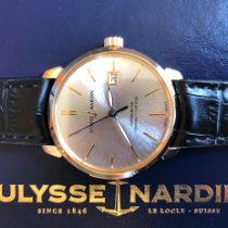 Ulysse Nardin pre-owned Automatic 40mm Silver Sapphire crystal 5 ATM