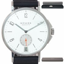 NOMOS pre-owned Automatic 40mm Silver Sapphire Glass
