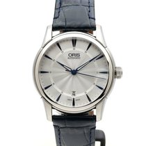 Oris Big Crown Complication Steel 40mm Silver Arabic numerals