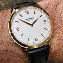 Montblanc Heritage Chronométrie Roségull 38mm Sølv Arabisk