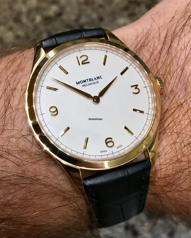 82fc4259ec8d9 Montblanc Rose gold watches - all prices for Montblanc Rose gold watches on  Chrono24