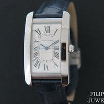 Cartier Tank Américaine new 2019 Automatic Watch with original box and original papers WSTA0018