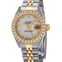 Rolex Lady-Datejust Χρυσός / Ατσάλι 26mm Xωρίς ψηφία