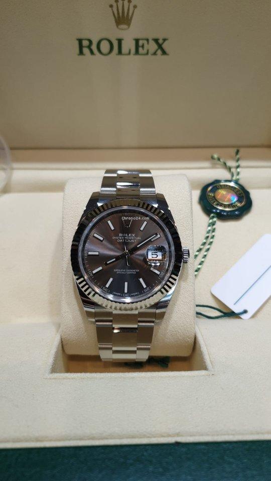 magasiner pour le luxe boutique de sortie belle qualité Rolex Datejust oyster perpetual rare rhodium dial