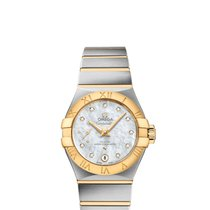 Omega Constellation Petite Seconde Gold/Steel 27mm Mother of pearl United States of America, Florida, Miami