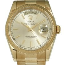 Rolex Day-Date 36 Yellow gold 36mm Champagne United Kingdom, London