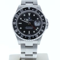 Rolex GMT-Master II Сталь 40mm Чёрный